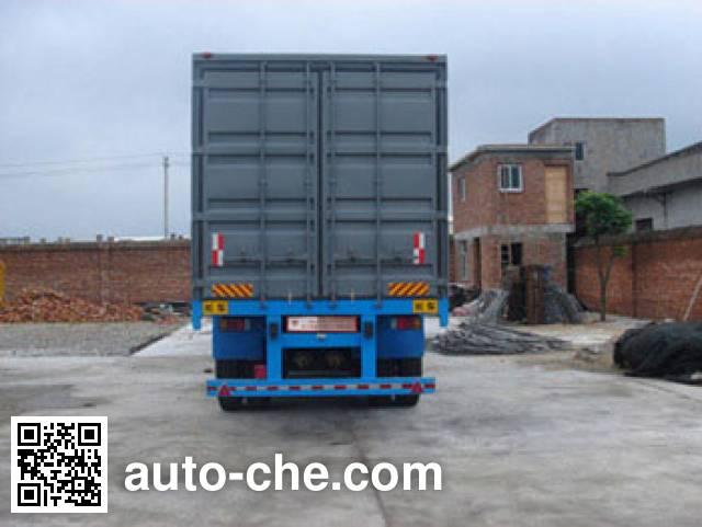 XGMA Chusheng CSC9280XXY box body van trailer