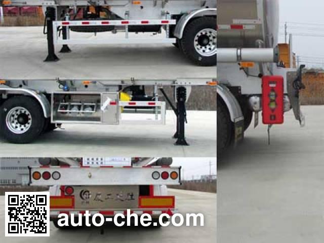 XGMA Chusheng CSC9350GYYL aluminium oil tank trailer