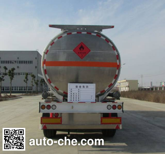 XGMA Chusheng CSC9351GYYLD aluminium oil tank trailer