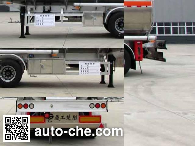 XGMA Chusheng CSC9404GYYLE aluminium oil tank trailer