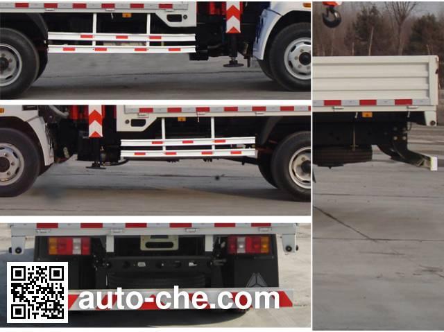 Shangjun CSJ5047JSQZZ4 truck mounted loader crane