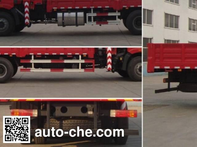 Shangjun CSJ5250JSQ4 truck mounted loader crane