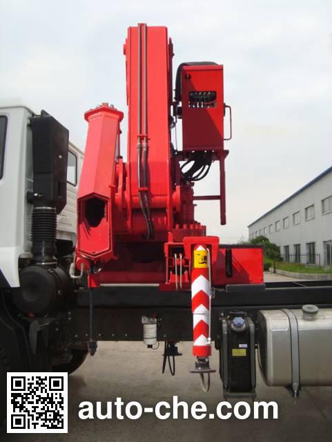 Shangjun CSJ5251JSQZZ5 truck mounted loader crane