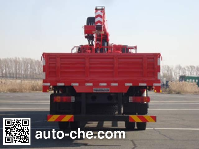 Shangjun CSJ5252JSQ5 truck mounted loader crane