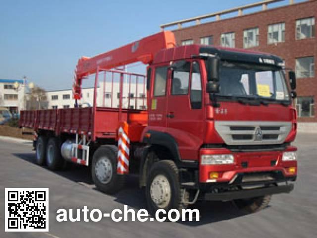 Shangjun CSJ5311JSQZZ4 truck mounted loader crane