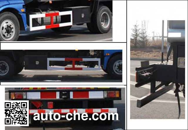 Longdi CSL5161GJYB4 fuel tank truck
