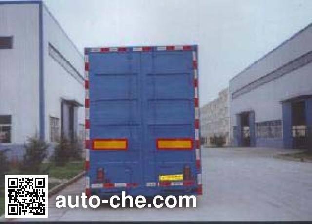 CIMC Liangshan Dongyue CSQ9164TCL vehicle transport trailer
