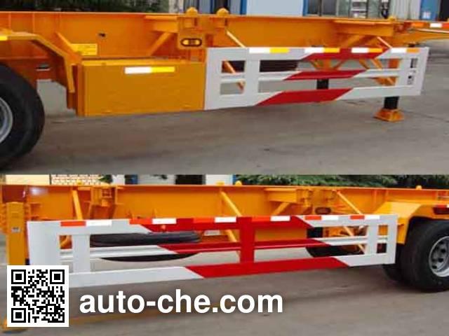 CIMC Liangshan Dongyue CSQ9362TJZG container transport trailer