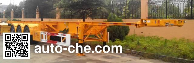 CIMC Liangshan Dongyue CSQ9354TJZ container transport trailer
