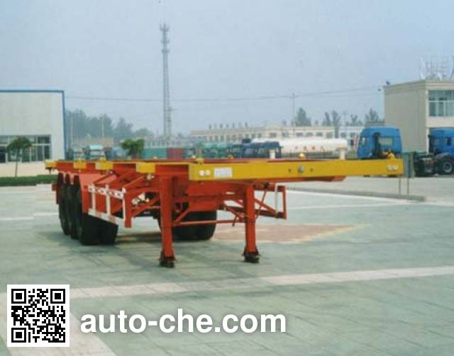 CIMC Liangshan Dongyue CSQ9362TJZG container carrier vehicle