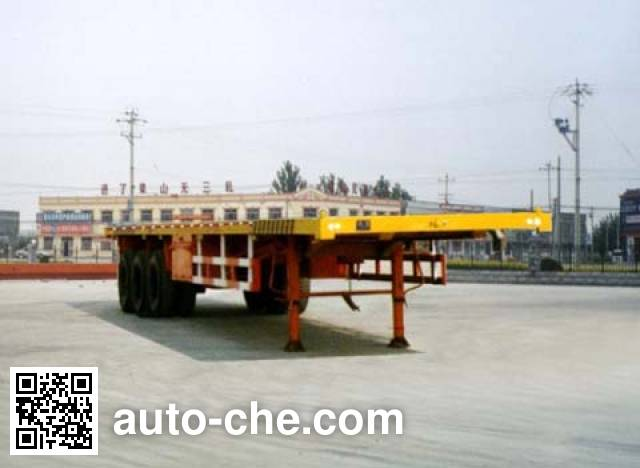 CIMC Liangshan Dongyue CSQ9380TJZP container carrier vehicle