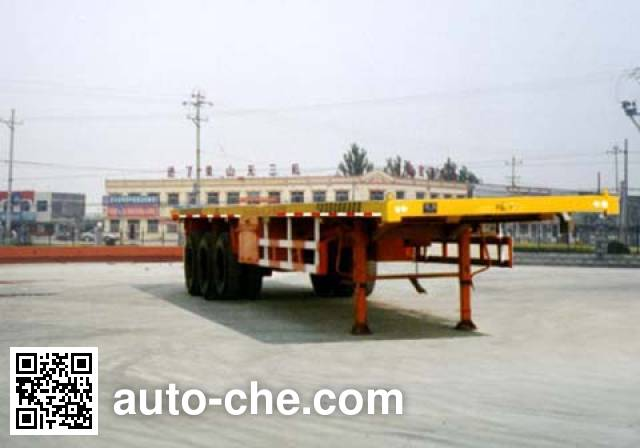 CIMC Liangshan Dongyue CSQ9381TJZA container carrier vehicle