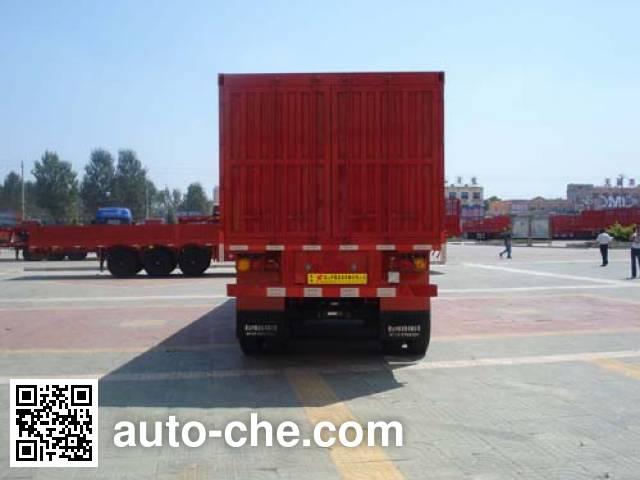 CIMC Liangshan Dongyue CSQ9382XXY box body van trailer