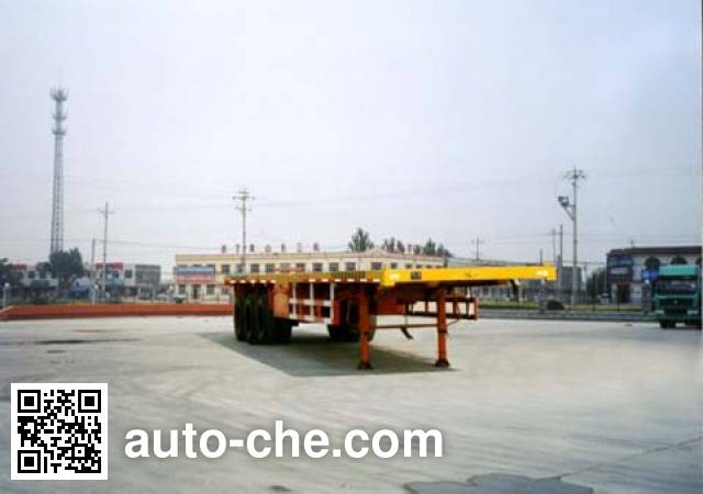 CIMC Liangshan Dongyue CSQ9391TJZ container carrier vehicle