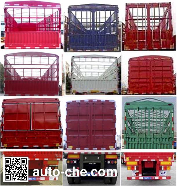 CIMC Liangshan Dongyue CSQ9400CCYA stake trailer