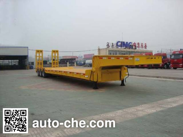CIMC Liangshan Dongyue CSQ9400TDPA lowboy