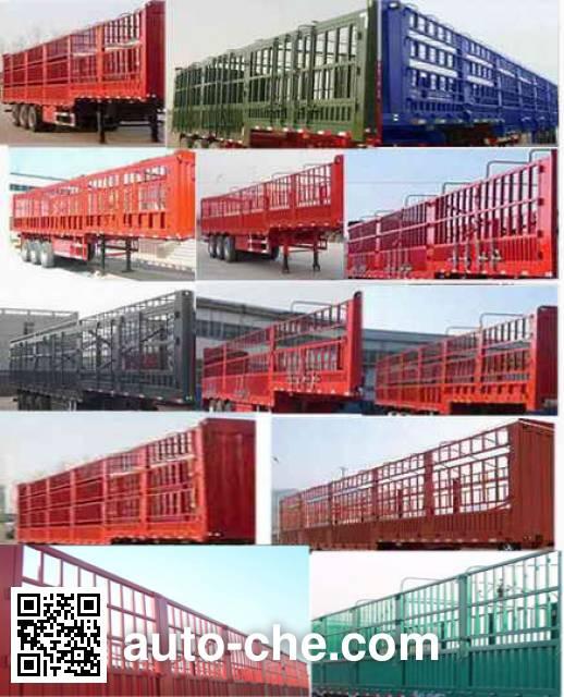 CIMC Liangshan Dongyue CSQ9401CCY stake trailer