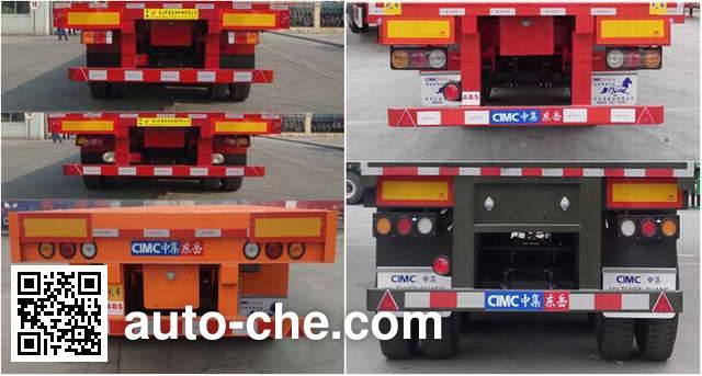CIMC Liangshan Dongyue CSQ9401TPB flatbed trailer