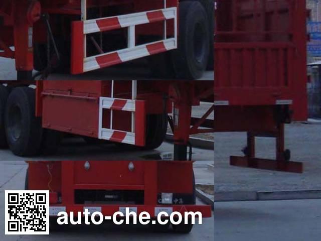 CIMC Liangshan Dongyue CSQ9281CLXYA stake trailer