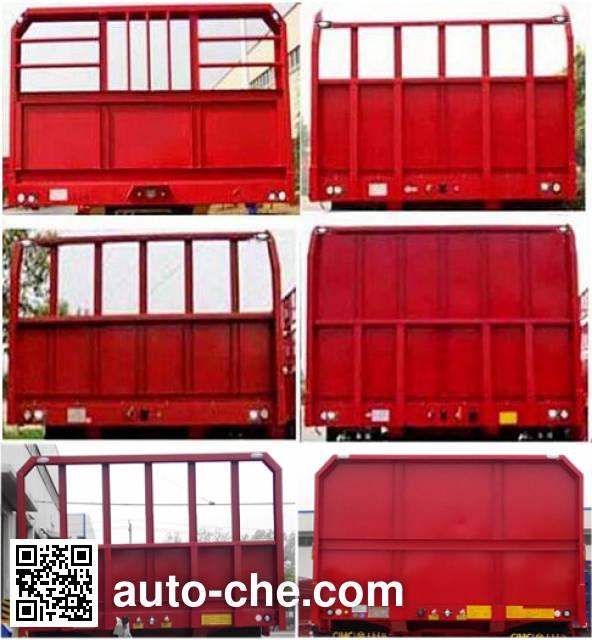 CIMC Liangshan Dongyue CSQ9400TPB flatbed trailer