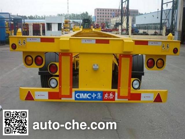 CIMC Liangshan Dongyue CSQ9403TJZG container transport trailer