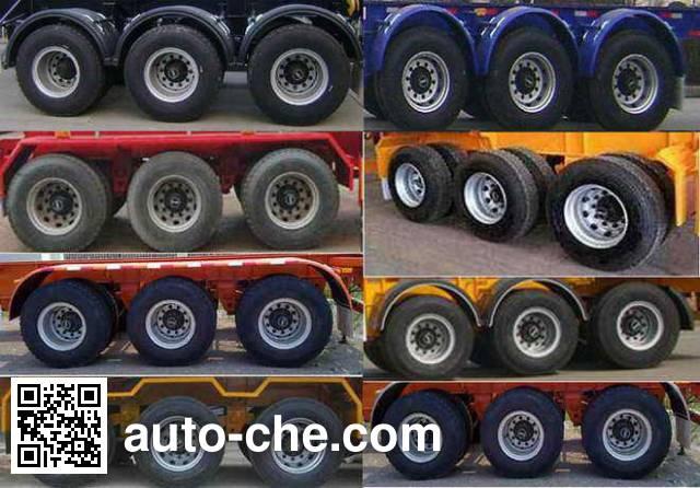 CIMC Liangshan Dongyue CSQ9404TJZ container transport trailer