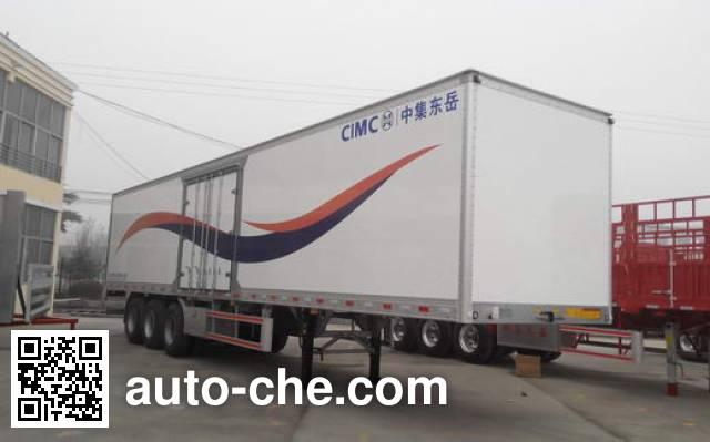 CIMC Liangshan Dongyue CSQ9406XXY box body van trailer