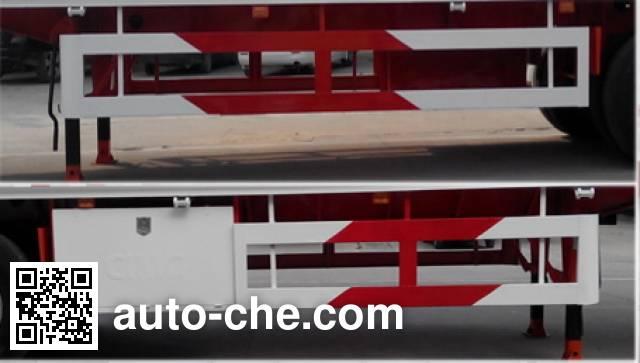 CIMC Liangshan Dongyue CSQ9406XXYA box body van trailer