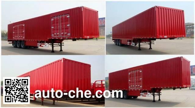 CIMC Liangshan Dongyue CSQ9407XXYD box body van trailer