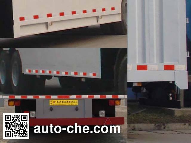 CIMC Liangshan Dongyue CSQ9407XXYW box body van trailer