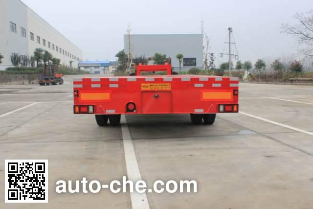 皖汽汽车牌CTD9180TDP低平板半挂车
