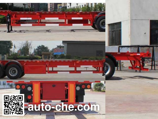 Wanqi Auto CTD9403TJZG container transport trailer