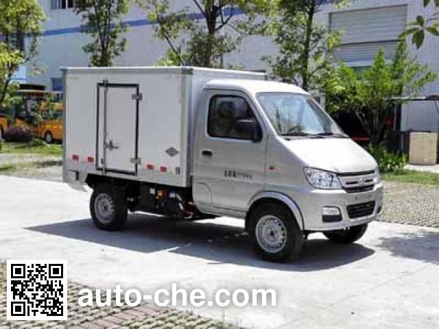 通途牌CTT5030XXYGC1BEV纯电动厢式运输车