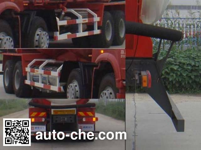 Tongya CTY5314GFLZ7 low-density bulk powder transport tank truck