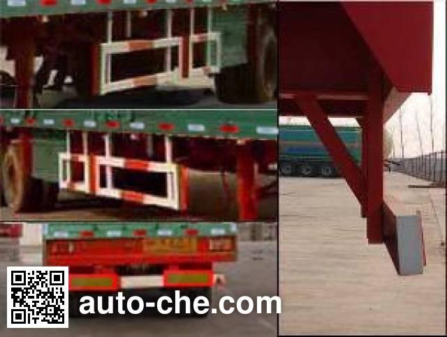 Tongya CTY9341XXY box body van trailer