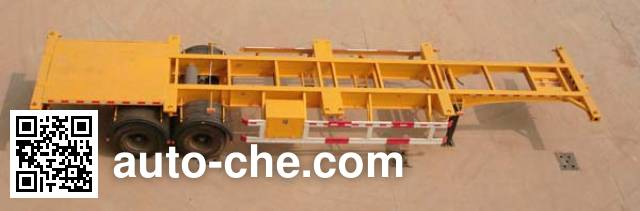 Tongya CTY9352TJZG container transport trailer
