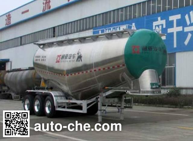 通亚达牌CTY9400GFLTL36铝合金中密度粉粒物料运输半挂车