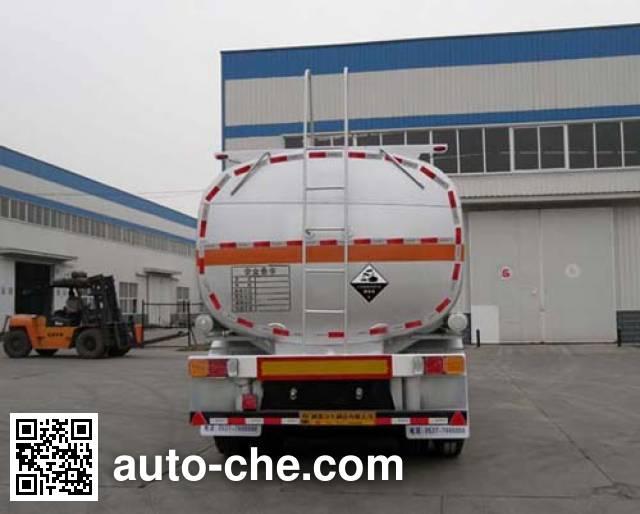 Tongya CTY9400GFW corrosive materials transport tank trailer