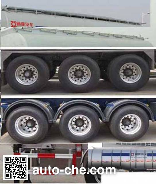 Tongya CTY9400GLYPH35 liquid asphalt transport tank trailer