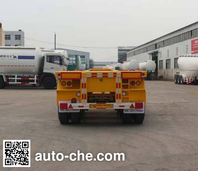 Tongya CTY9400TJZG20 container transport trailer
