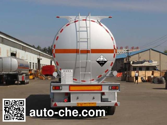 Tongya CTY9401GFWAS corrosive materials transport tank trailer