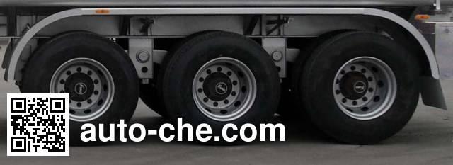 Tongya CTY9401GRY flammable liquid aluminum tank trailer