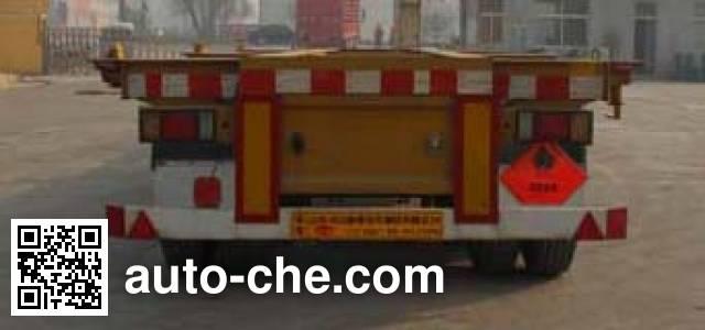 Tongya CTY9401TWY30 dangerous goods tank container skeletal trailer