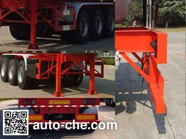 Tongya CTY9402GFW corrosive materials transport tank trailer