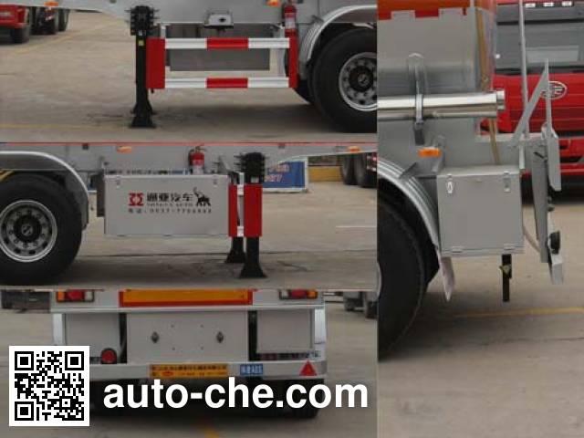 Tongya CTY9403GFW corrosive materials transport tank trailer