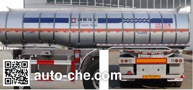 Tongya CTY9403GRYA flammable liquid tank trailer