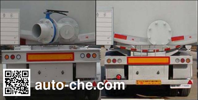 Tongya CTY9400GSY edible oil transport tank trailer