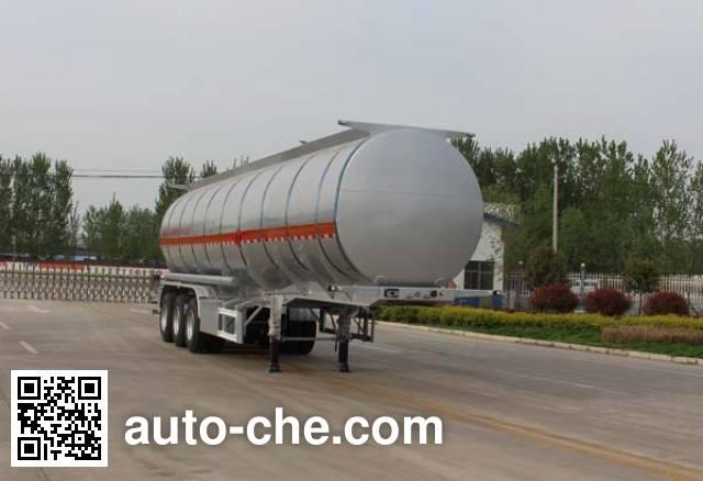 Tongya CTY9403GRYLBW flammable liquid aluminum tank trailer