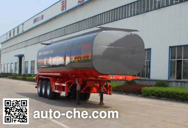 Tongya CTY9403GYSA liquid food transport tank trailer