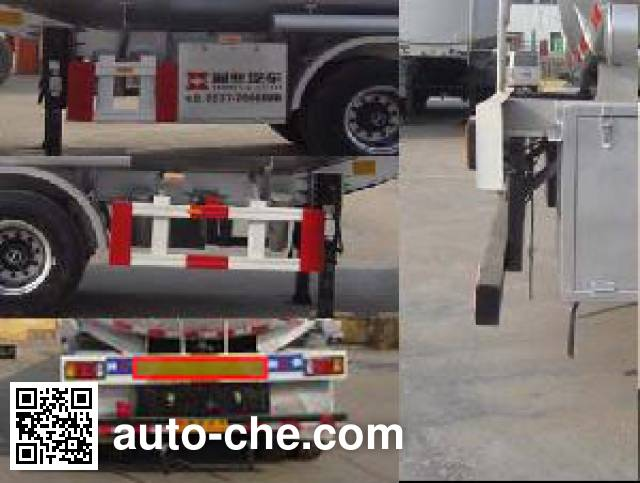Tongya CTY9403GYY oil tank trailer